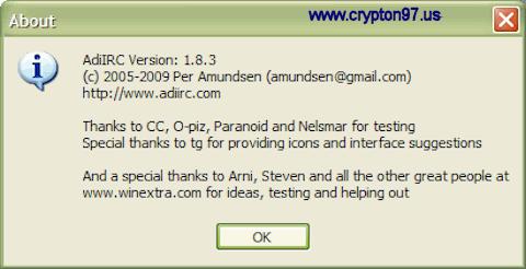 Tata cara mendaftarkan nickname pada IRC menggunakan AdiIRC