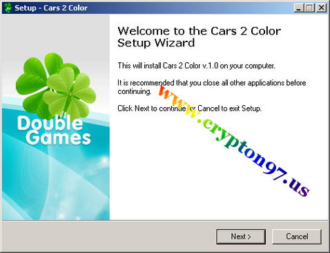 Welcome to the Cars 2 color setup wizard