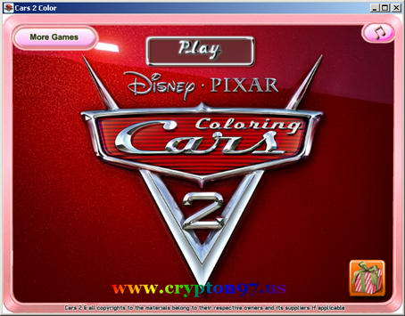 Disney PIXAR color CARS 2