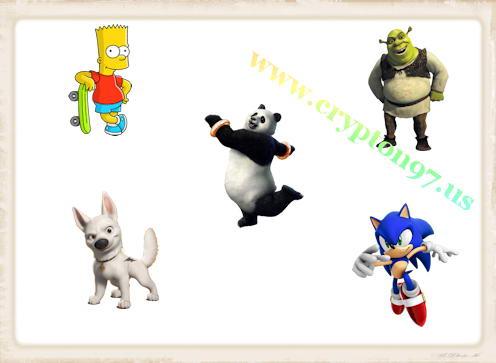 Berbagai macam gambar icon yang bergambarkan tokoh ...