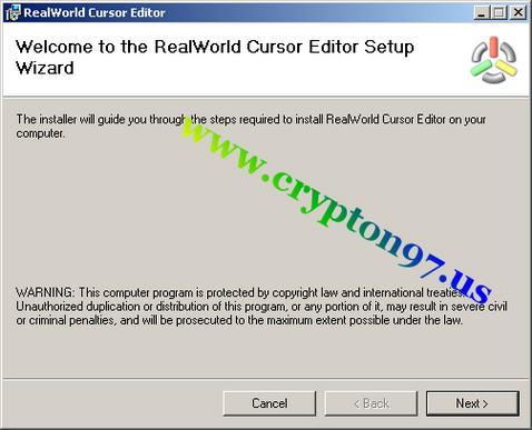 RealWorld Cursor Editor - Mudah membuat dan memodifikasi file gambar cursor mouse