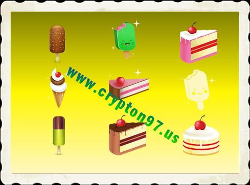 Berbagai macam gambar icon ice cream ( es krim ) gratis di unduh