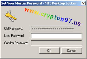 Set Your Master Password