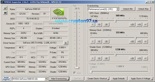 NVIDIA Inspector 9300GS
