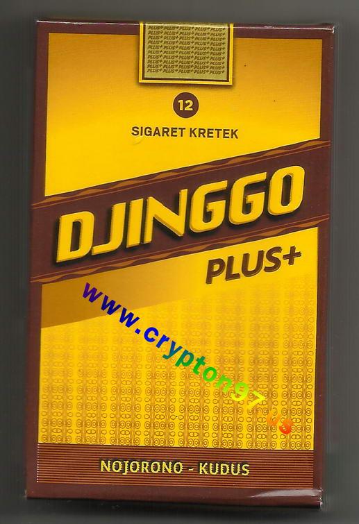 Rokok sigaret kretek DJINGGO Plus +