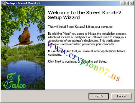 Street Karate 2 - Games ringan perkelahian seorang pemuda jack melawan berandal jalanan di malam hari