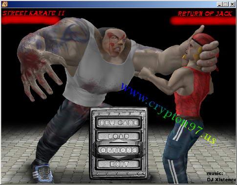 games Street Karate 2 di jalankan
