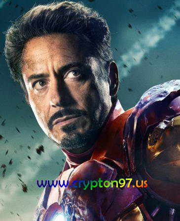 Iron Man diperankan oleh Robert Downey Jr