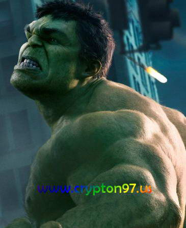 The Hulk diperankan oleh Mark Ruffalo