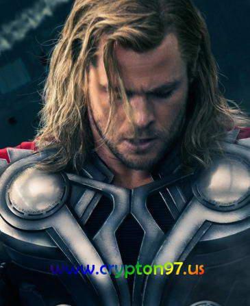 Thor yang di perankan oleh Chris Hemsworth