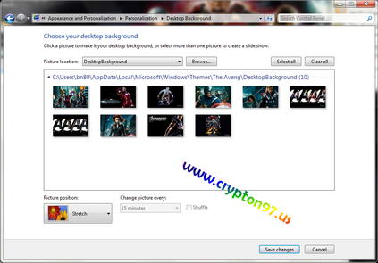 Themes windows7 the avengers