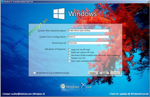 Windows 8 Transformation Pack 4.0