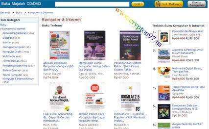 Buku buku tentang Komputer dan Internet berbahasa indonesia