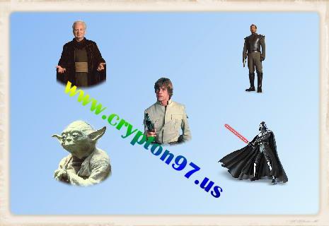 Star Wars Characters - Koleksi berbagai macam icon bercirikan tokoh karakter dalam film Star Wars