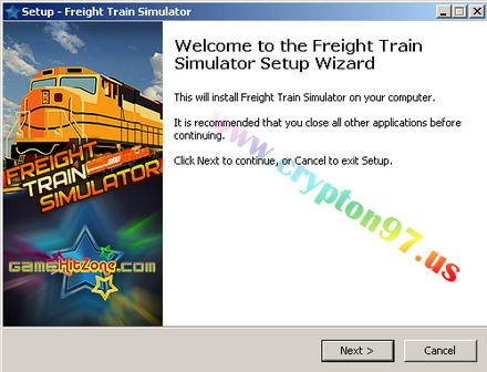 Welcome to the Freight Train Simulator setup wizard