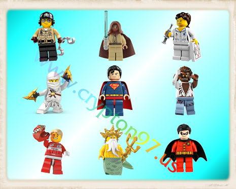 Lego Figure Icons - Koleksi gambar icon bergambarkan tokoh figur dalam bentuk LEGO