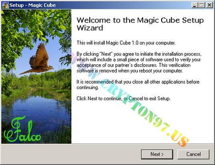Magic Cube - Permainan komputer gratis memainkan secara virtual kubus rubik