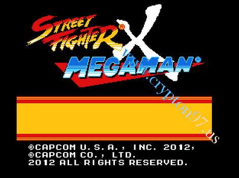 Street Fighter X Mega Man - Games baru di rilis memainkan tokoh karakter Mega Man dan Street fighter