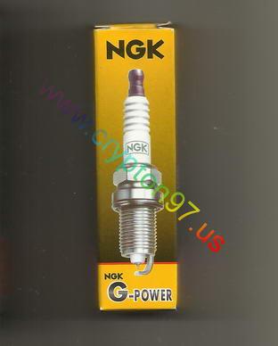 Manjakan crypton dengan busi NGK Platinum G-Power CR7HGP dan hasilnya maknyus :D