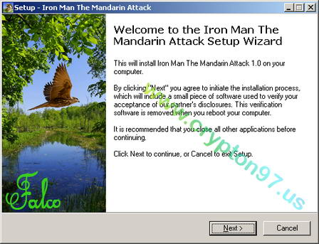 Welcome to the Iron Man The Mandarin Attack setup wizard