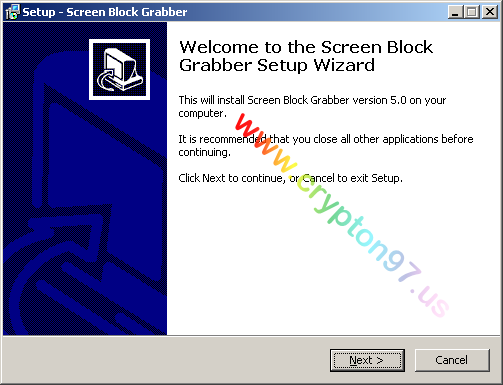 Screen Block Grabber Setup Wizard