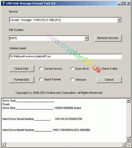 USB Disk Storage Format Tool - Solusi buat yang ingin mem-format ...