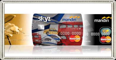 Kartu kredit yang dikeluarkan oleh bank terkemuka ini merupakan kartu
