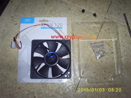 DeepCool XFAN 120mm
