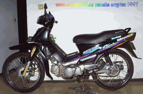 Yamaha Crypton ku Ultah ke 12 tahun :D