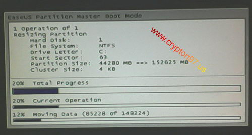 Easeus Partition Master Boot Mode