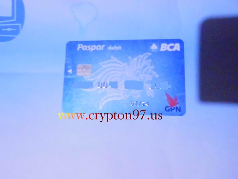 Kartu ATM / Paspor Debit BCA baru