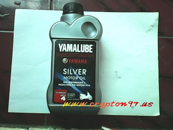 Fuel Cock Assy 4YS-F4500-00 & YAMALUBE SILVER untuk yamaha crypton