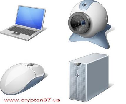 Kumpulan Icon Gambar Hardware Komputer Gratis