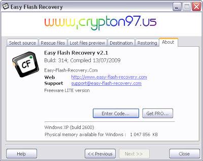Easy Flash Recovery - aplikasi pengembali file gambar yang terhapus