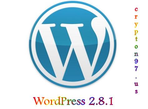 Upgrade ke wordpress 2.8.1