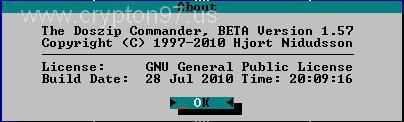 Doszip Commander - Perangkat lunak manajemen file kloningan dari Norton Commander