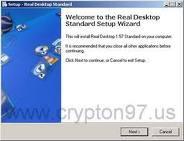 Real Desktop - Software perubah tampilan desktop menjadi lebih hidup