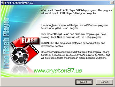 Free Flash Player - software gratis pemutar file flash