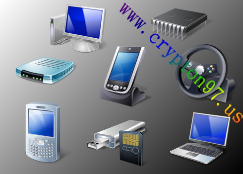 Koleksi terbaru icon bergambar hardware komputer edisi oktober 2011