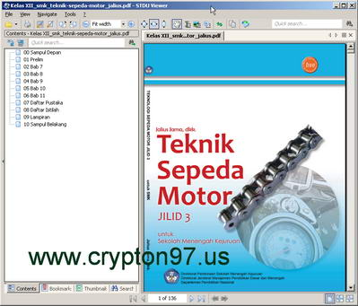 STDU Viewer - Program pembaca file dokumen berextension TXT,TCR,TIFF,PDF,DjVu,XPS,CBR